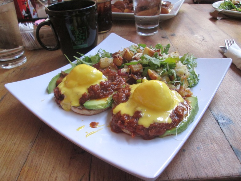 Short Ribs Benedict from Fig Tree Cafe